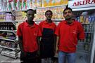Comprando comida en Ethio Supermarket. Addis Abeba